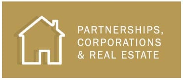 Partnerships, Corporations & Real Estate