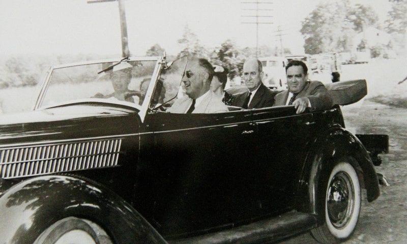 FDR and John Mack